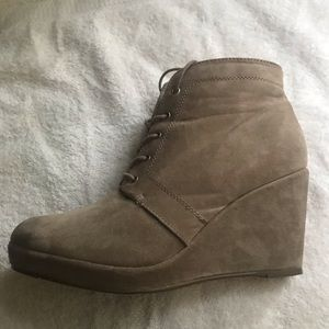 Forever 21 wedge boots